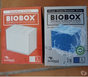 Photos Vivastreet LOT DE 1 RECHARGE MOUSSE BIOBOX L ET 1 OUATE BIOBOX L POUR F