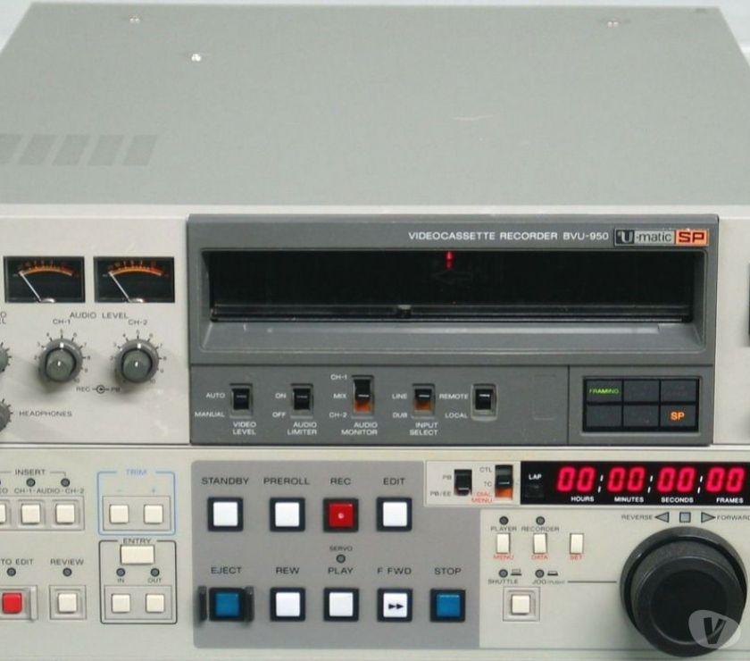 Photo - Video - Son Paris Paris 13ème ardt - 75013 - Photos Vivastreet SONY U-MATIC SP BVU-950P RECORDER EDITOR