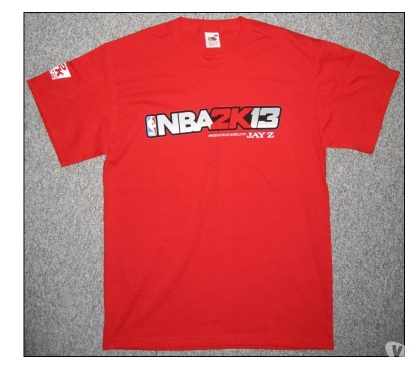 Photos Vivastreet T shirt NBA 2K13 neuf