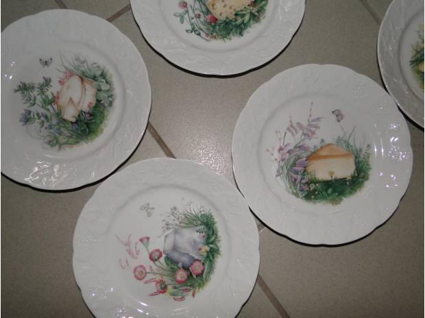 assiettes a fromage en porcelaine meaux 77100. Black Bedroom Furniture Sets. Home Design Ideas