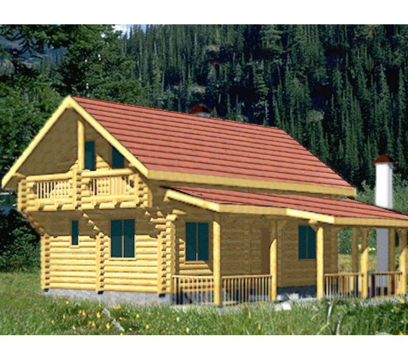 Photos Vivastreet Maisons en Gros Rondin 240mm de diam RT2012 (Adelweiss 2)