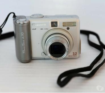 Photos Vivastreet appareil photo numérique canon powershot A70