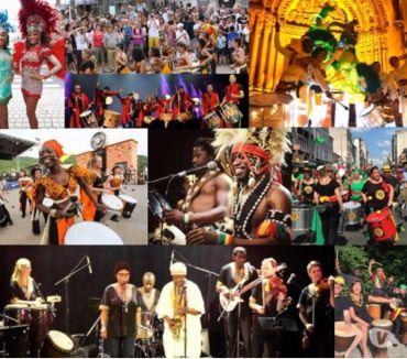 Photos Vivastreet spectacles festifs et lumineux Wim Percussion