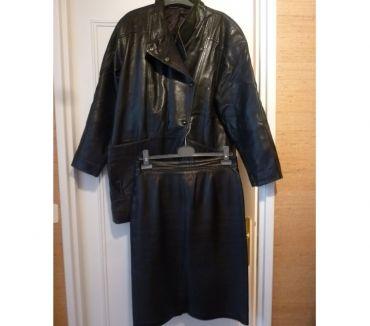 Photos Vivastreet Manteau et jupe cuir Pierre le Loup femme