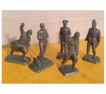 Photos Vivastreet Figurines MOKAREX années 1950 Artilleur, Poilu de la Marne,