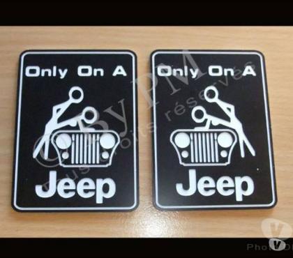 Photos Vivastreet Original et Fun pour JEEP / Only on a Jeep