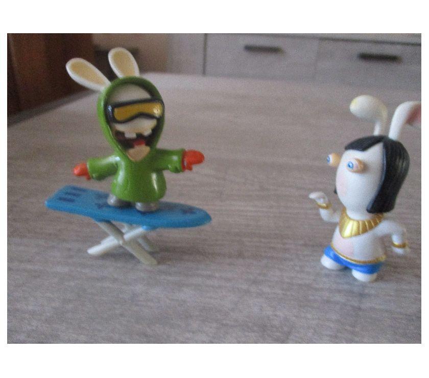Photos Vivastreet lot de 2 figurines Lapin crétin