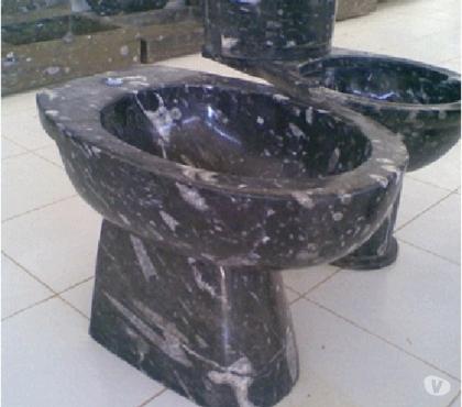 Photos Vivastreet Bidet de toilette en marbre fossilisé