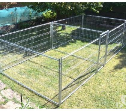 Photos Vivastreet Chenil RENFORCE 2x12,5 m² enclos chien double 13C