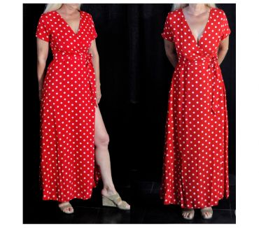 Photos Vivastreet Sexy robe longue a pois