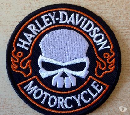 Photos Vivastreet Écusson hd harley davidson tête de mort modèle 2