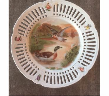 Photos Vivastreet Assiette ajourée décor canards