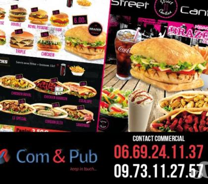 Photos Vivastreet Menu boards, Flyers pour restaurants Fast food - Strasbourg