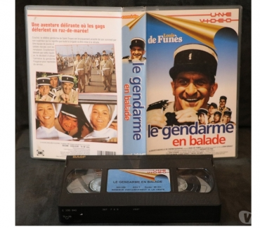 Photos Vivastreet K7 VHS secam film LE GENDARME EN BALADE 96 mn couleur