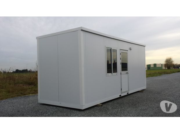 Bungalow algeco container module construction modulaire for Prix container occasion