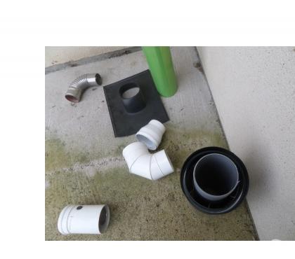 Photos Vivastreet Plaque pour raccorder un tuyau chaudière et tuyaux