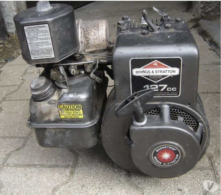 Photos Vivastreet moteur birggs et stratton 3 cv stafor