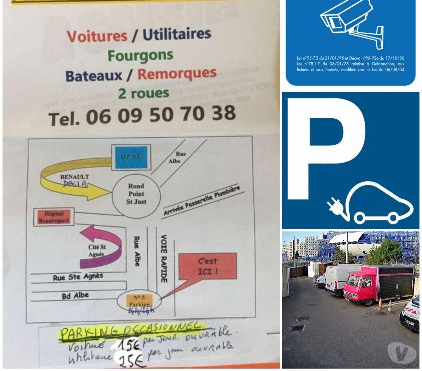 Parkings - Garages Bouches-du-Rhône Marseille - Photos Vivastreet Parking occasionnel pour 1 soirée ou plus sur Marseille