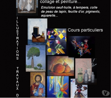 Photos Vivastreet Cours de peinture, collage, fresque à fresco...