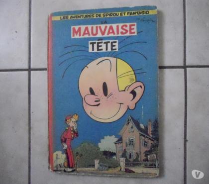 Photos Vivastreet SPIROU ET FANTASIO MAUVAISE TETE 1956