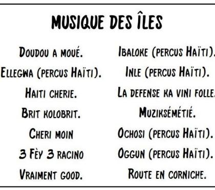 Photos Vivastreet Musique des Iles (instrumentale)