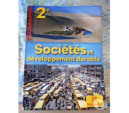 Photos Vivastreet Livre scolaire 2è Géo. « Sociétés - dév. durable »