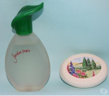 Photos Vivastreet Eau de toilette JARDIN FRAIS (Avon) et son savon fleuri NEUF