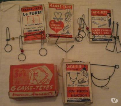 Photos Vivastreet Lot 5 Ancien casse-tête Le Furet avec boite origin