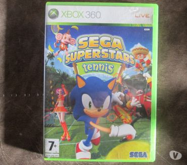 Photos Vivastreet Jeu X-BOX 360 Sega superstars tennis.