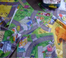 Photos Vivastreet 6 Tapis de jeu pour voitures
