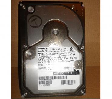 Photos Vivastreet Disque dur IBM Ultrastar SCSI 3 36.7 GB