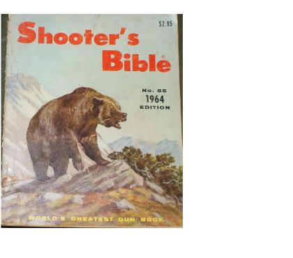 Photos Vivastreet catalogue d'armes Shooter's Bible 1964