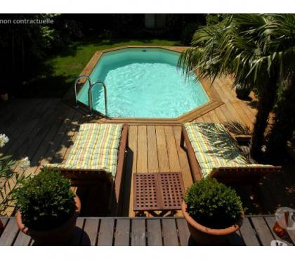 Photos Vivastreet Piscine Bois Ovale en kit