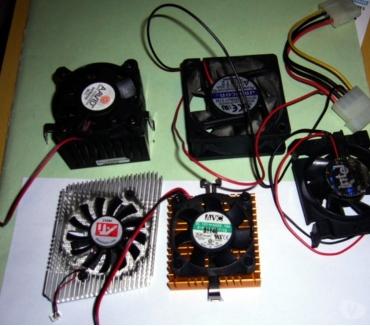 Photos Vivastreet Lot de 6 ventilateurs refroidisseurs PC