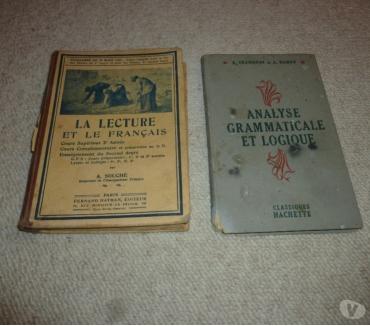 Photos Vivastreet Lecture et le français - grammaire et logique