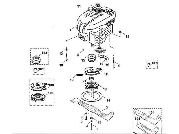pi ces pour tondeuse viking mb 505 c le val d 39 ajol. Black Bedroom Furniture Sets. Home Design Ideas