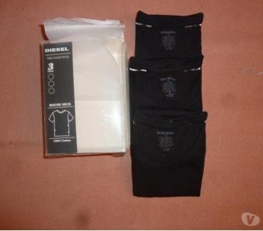 Photos Vivastreet 3 t-shirts Diesel noirs