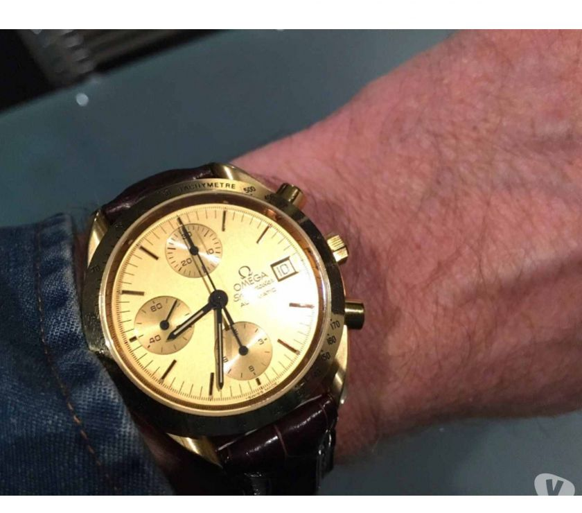 Photos Vivastreet Omega Speedmaster or 18K 39mm 750 full set diamètre 39mm