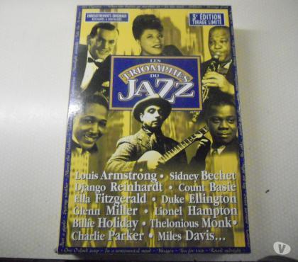 Photos Vivastreet coffret 18 cd les triomps du jazz neuf