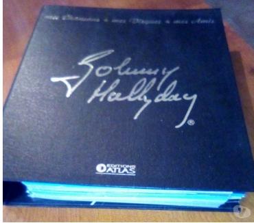 Photos Vivastreet classeur de fiches sur Johnny Hallyday