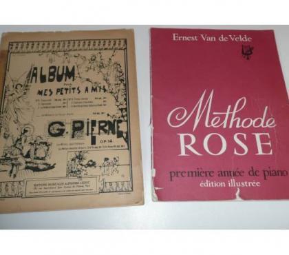 Photos Vivastreet PARTITIONS PIANO METHODE ROSE/ ALBUM POUR MES PETITS AMIS