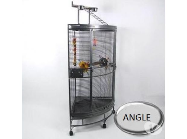 Photos Vivastreet Voliere d'angle cage perroquet cage perruche amazone 13O