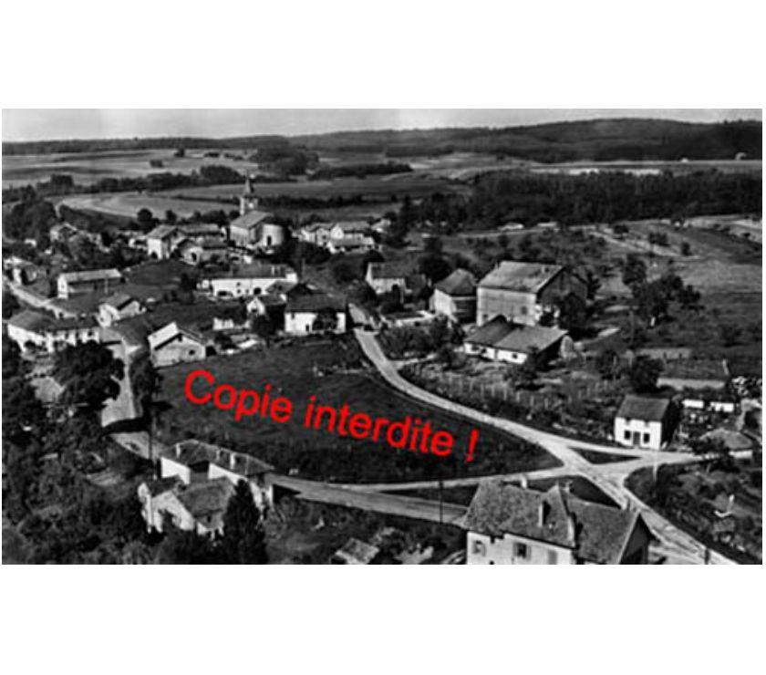 Photos Vivastreet Urimenil - vue semi-aérienne, N&B, argentique 27x45 cm, 1956