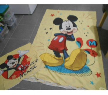 Photos Vivastreet Parure drap mickey