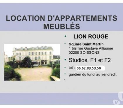 Photos Vivastreet location studio meublé à Soissons