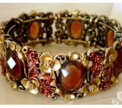 Photos Vivastreet Bracelet vintage en métal petites fleurs