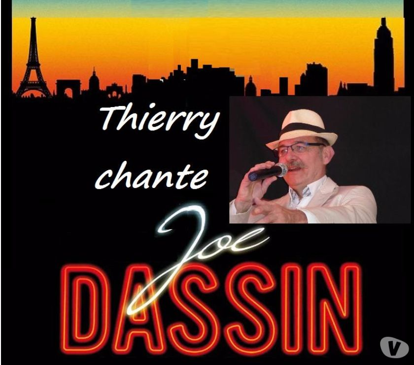 Photos Vivastreet Thierry chante Joe DASSIN