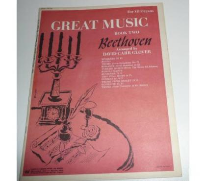 Photos Vivastreet PARTITIONS PIANO GREAT MUSIC BEETHOVEN book two