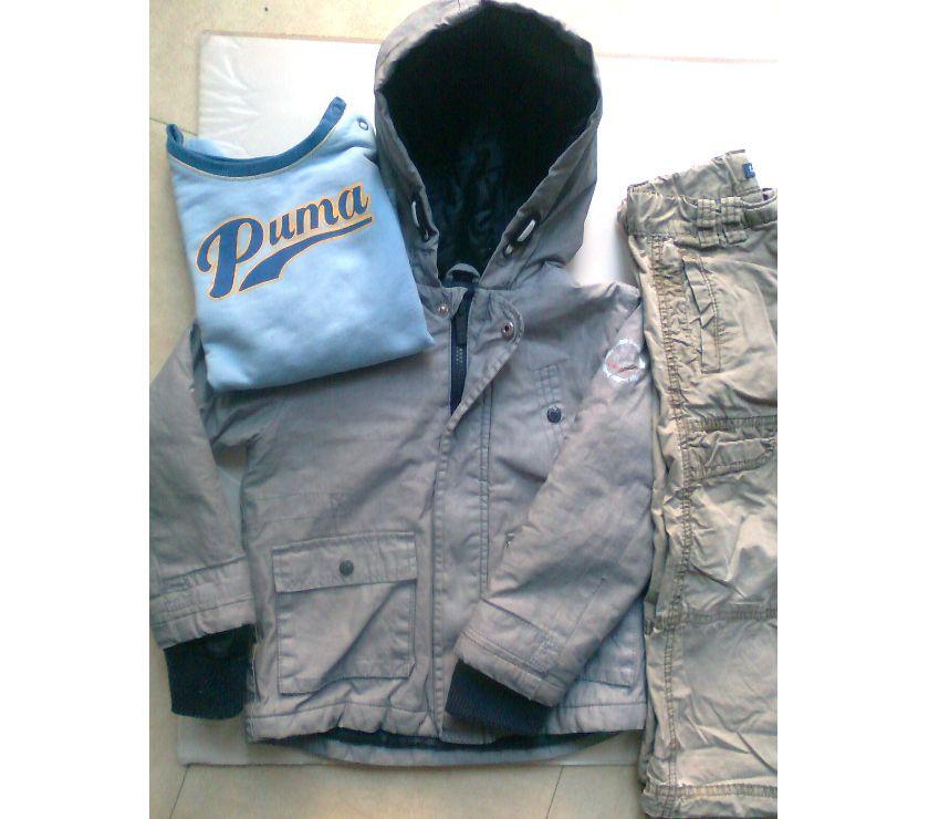 Photos Vivastreet veste, 2 pantalons, sweat - 36 mois - zoe