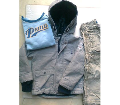 Photos Vivastreet veste, 2 pantalons, sweat - 36 mois - zoe